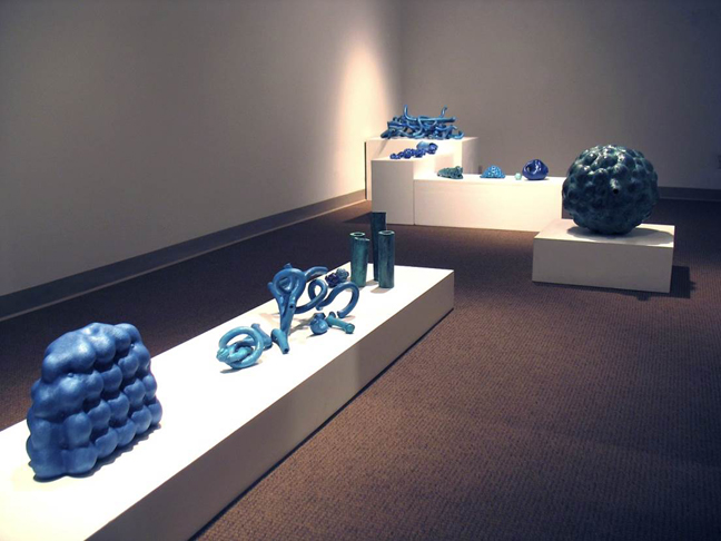 """FLOW"" installation @ St. Louis University Gallery. 2009"