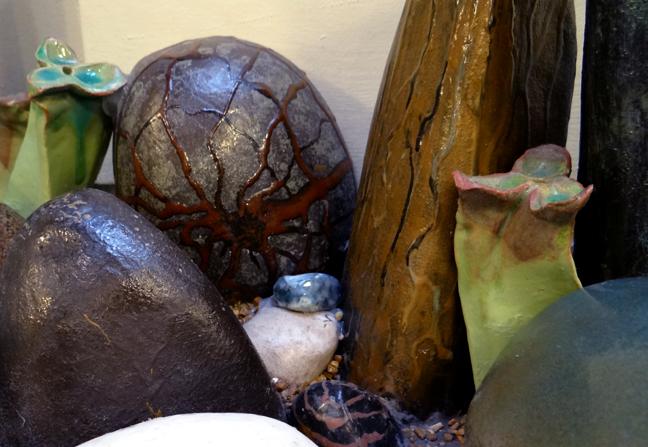 Detail: Spider Rock